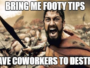 Office Footy Tipping Competition Bragging Rights – How to Earn Yours