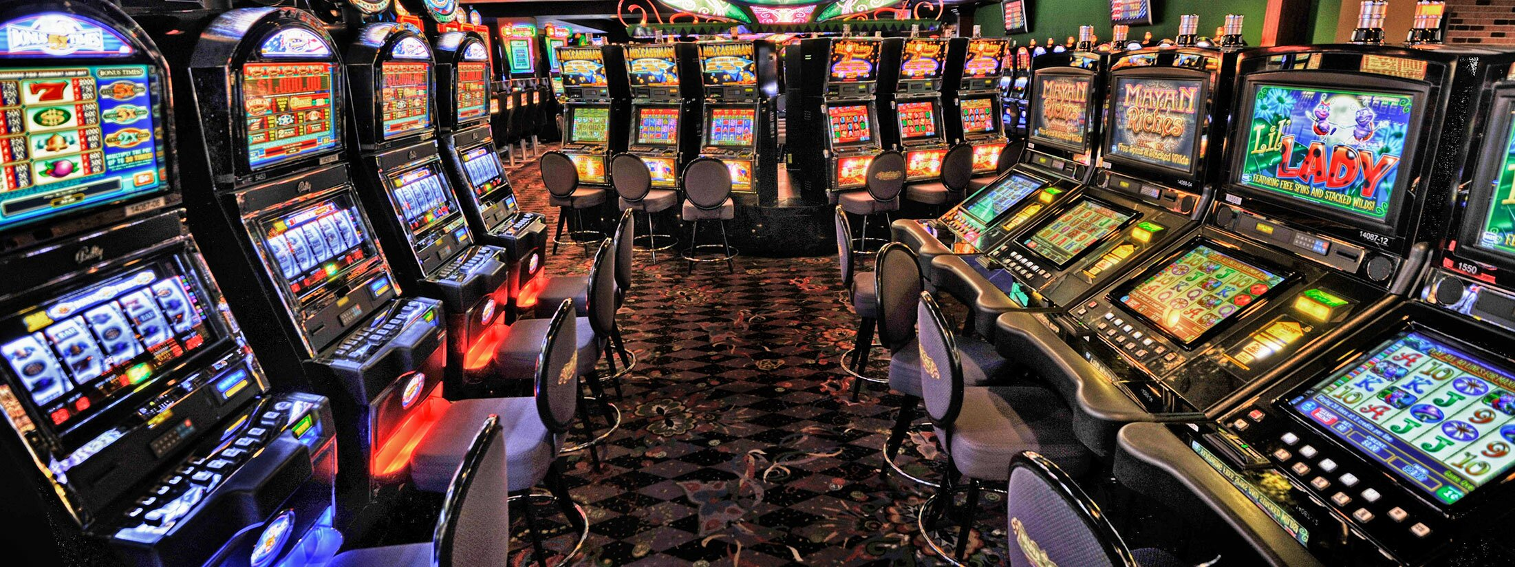 Casino on slot machines
