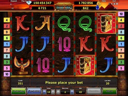 Slot Machine Book